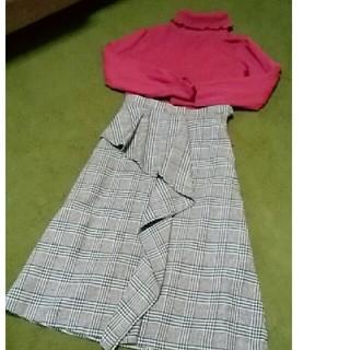 ケティ(ketty)のグレンチェック スカート(ひざ丈スカート)