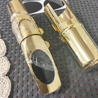 【※プロ納得】アルトサックス マウスピース 5C ゴールドメッキ 新品 送料無料(サックス)