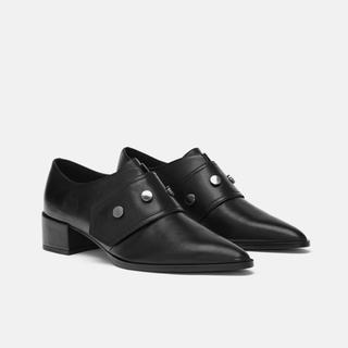ザラ(ZARA)のZARA  今季  ポインテッドシューズ(ローファー/革靴)