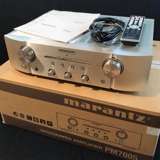 【ぱるん様専用】marantz (マランツ) プリメインアンプ PM7005(アンプ)