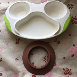 リッチェル(Richell)のリッチェル 子供食器 トライ ぱくぱく用プレート トライ 置くだけ吸盤(離乳食器セット)