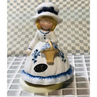 カトウセイサクショ(加藤製作所)のKATOKOGEI オルゴール 愛のオルゴール 陶器 人形 置物 (オルゴール)