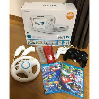 ウィーユー(Wii U)のWiiUスポーツプレミアムセット32GB+他  計12点set(家庭用ゲーム本体)
