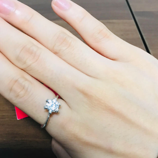 KAORU(カオル)のKAORU シルバー リング ダイヤ レディースのアクセサリー(リング(指輪))の商品写真