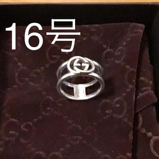 グッチ(Gucci)の【美品】GUCCI インターロッキングG 16号(リング(指輪))