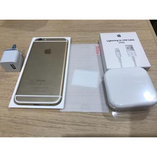 iPhone - [美品] SIMフリー iPhone6s 64GB GOLD(ゴルード)