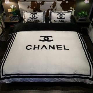 CHANEL - CHANEL 寝具バーセット 2枚枕カバー*4点セット