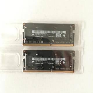 アップル(Apple)のPC4-19200(DDR4-2400) メモリ(PCパーツ)