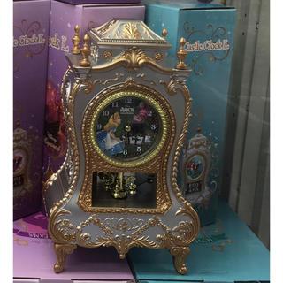 ディズニー(Disney)の不思議の国のアリス キャッスルクロック 置時計 ディズニー(置時計)