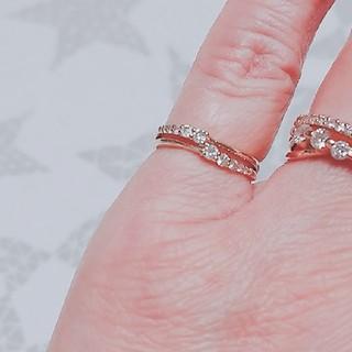 ジュエリーツツミ(JEWELRY TSUTSUMI)の10k  ダイヤモンドリング(リング(指輪))