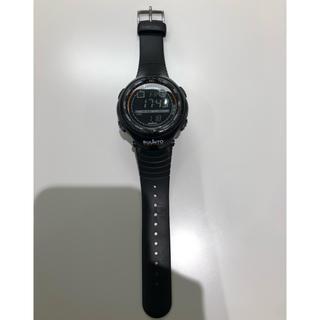 スント(SUUNTO)のSUUNTO VECTOR ブラック&オレンジ(腕時計(デジタル))