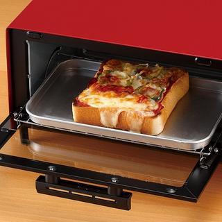人気♪オーブントースター レッド(調理機器)