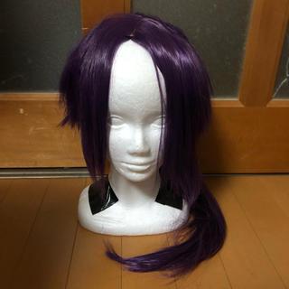 パープル 紫 ポニーテール ウィッグ(ウィッグ)