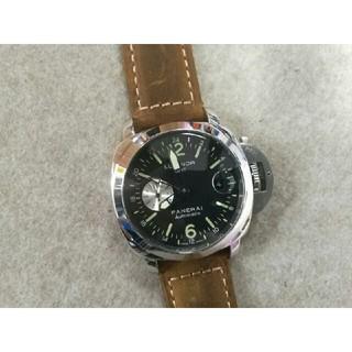 オフィチーネパネライ(OFFICINE PANERAI)のPANERAI ルミノールGMT 自動巻 腕時計(腕時計(アナログ))