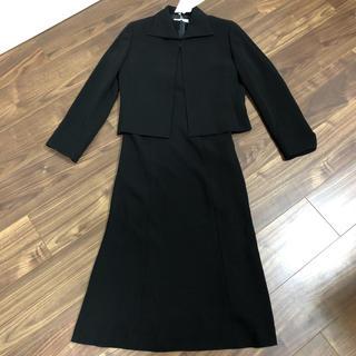 イネド(INED)の新品!フランドル セレクション イネド ブラックフォーマル 7号 お受験スーツ(スーツ)