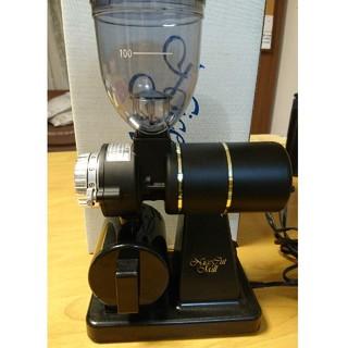 カリタ(CARITA)のカリタ ナイスカットミル(黒) 付属品・箱あり(電動式コーヒーミル)