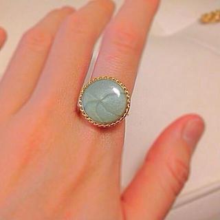 レトロボタンの指輪♡kaco3(リング(指輪))