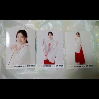 エスケーイーフォーティーエイト(SKE48)のSKE48 松井珠理奈 2019年 福袋 生写真 AKB(アイドルグッズ)