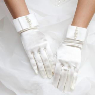 新品♡ブライダルグローブ 結婚式