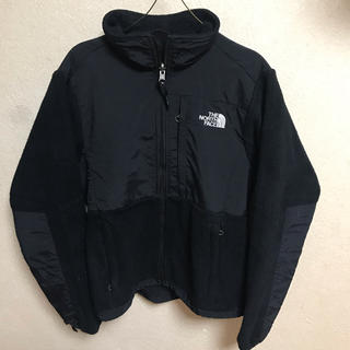 THE NORTH FACE - 90s THE NORTH FACE デナリジャケット ブラック フリース 古着