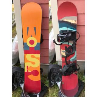 バートン(BURTON)のBURTON custom 2016 スノーボード板 ビンディング セット(ボード)