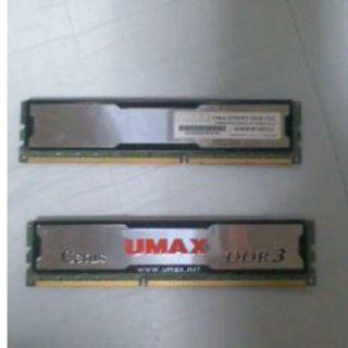 DDR3メモリ8GB×2ジャンク(PCパーツ)
