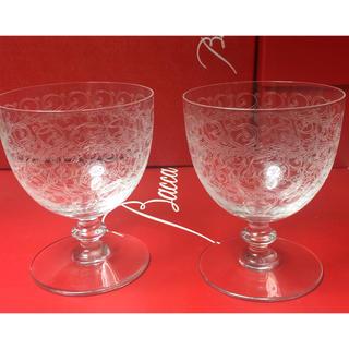 バカラ(Baccarat)のバカラ  BACCARAT  ローハン  Largeサイズ  ペアセット (グラス/カップ)