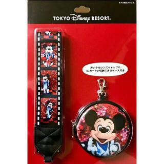 ミッキーマウス - ミッキー カメラストラップ イマジニング ザ マジック