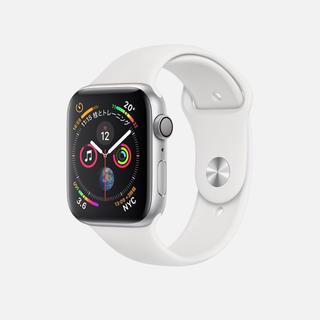 アップルウォッチ(Apple Watch)のApple watch series 4 44 cellu 未開封シルバー(腕時計(デジタル))