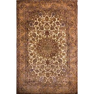イスファハン産 ペルシャ絨毯 162×104cm