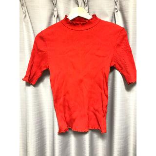アーカイブ(Archive)の真っ赤なトップス (カットソー(半袖/袖なし))