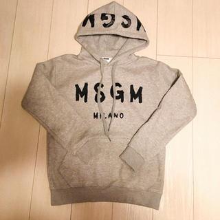 エムエスジイエム(MSGM)の韓国 MSGM ロゴパーカー パロディ(パーカー)