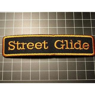 アイロンワッペン★ストリートグライド★STREET GLIDE★ハーレー(装備/装具)