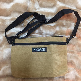 ニコル(NICOLE)のNiCORON ショルダーバッグ(ショルダーバッグ)