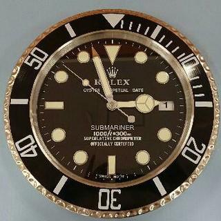 ロレックス(ROLEX)のロレックス 掛け時計 サブマリーナ 黒(その他)