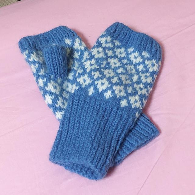 ハンドメイド 手袋 ハンドメイドのファッション小物(手袋)の商品写真