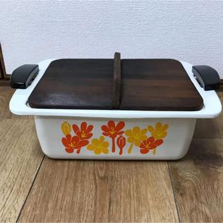 昭和レトロ ホーロー鍋