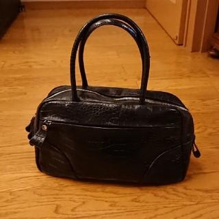 サクスニーイザック(SACSNY Y'SACCS)のY'SACCS 本革 クロコ型押し バッグ(ハンドバッグ)