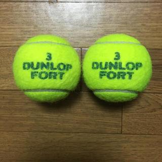 ダンロップ(DUNLOP)のダンロップテニスボール 2個(ボール)