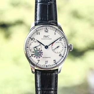 インターナショナルウォッチカンパニー(IWC)のIWCポルトギーゼクロノグラフSSIW371417メンズ腕時計(腕時計(アナログ))