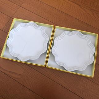 ルクルーゼ(LE CREUSET)の新品未使用 ルクルーゼ  フリルプレート 18センチ(食器)