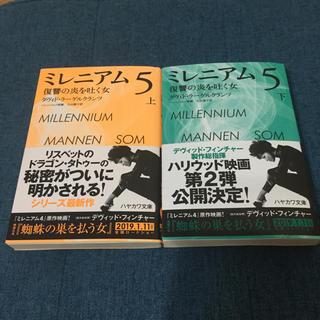ミレニアム5 上下(文学/小説)