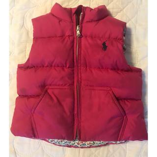 91381206c3ee8 ラルフローレン(Ralph Lauren)のラルフローレン 女の子 ダウンベスト(ジャケット コート
