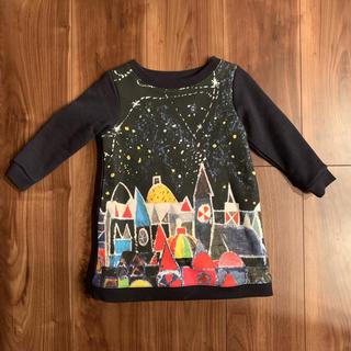 グラニフ(Design Tshirts Store graniph)の美品 GRANIPH ブライアン ワイルドスミス ワンピース(ワンピース)