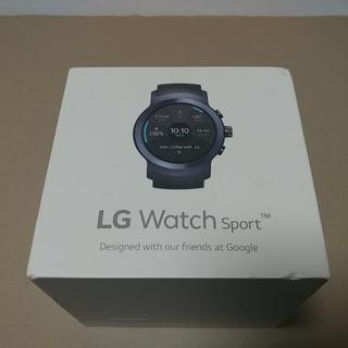 LG Sport Watch LG-W280 ダークブルー 北米版(その他)