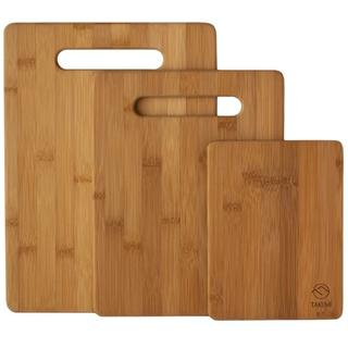 竹製☆まな板 3点セット(調理道具/製菓道具)