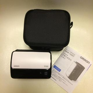 オムロン(OMRON)の◻️ OMRON ◻️上腕式血圧計 HEM-7600T ホワイト (その他)
