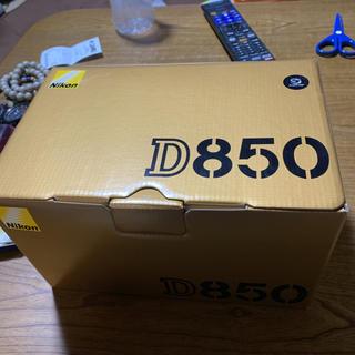 ニコン(Nikon)のニコンD850 ボディ 新品、未使用(デジタル一眼)