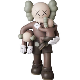 MEDICOM TOY - KAWS SLATE BROWN フィギュア
