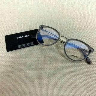 CHANEL - シャネル/CHANEL 眼鏡 メガネ グレー/シルバー クリア 2132